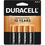 Duracell CopperTop MN1500 Battery - AA - Alkaline