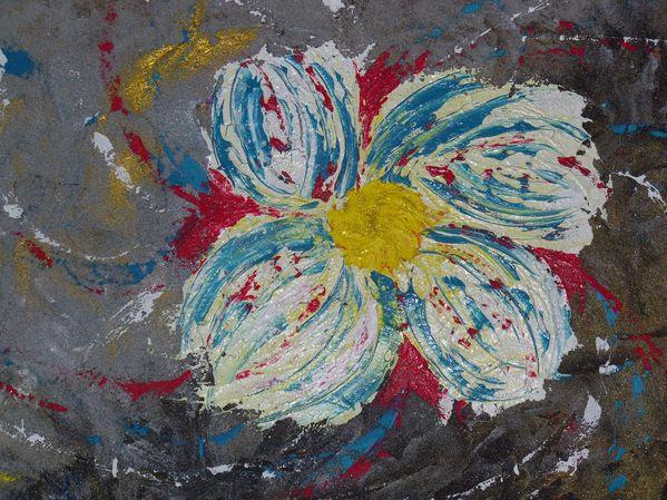 Tableau Triptyque Fleurs Des Sables Les Tableaux De Mo