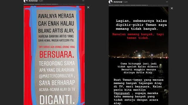 Mantan Vokalis Drive Bela Deddy Corbuzier, Anji : Ganti Tayangan Alay di Tv