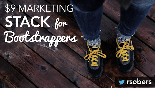 $9 Marketing Stack: A Step-by-Step Guide