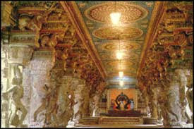 Hall of Thousand Pillars in Madurai