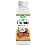 Nature's Way Liquid Premium Oil, Coconut - 10 fl oz bottle