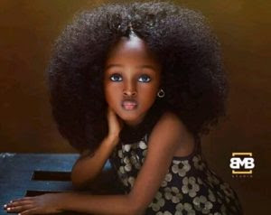 4-Year-Old Nigerian Girl Branded 'The Most Beautiful Girl In The World' (Photos)