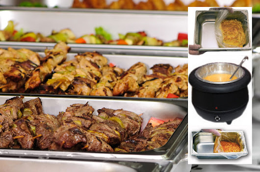 SIRA-SERV: Nylon-based catering and food service solution for lining vats, saucepans, pots and chafing dishes