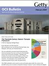 GCI Bulletin