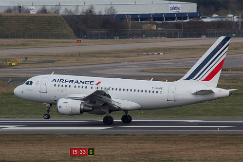 AIR FRANCE AIRBUS A318-111 F-GUGE