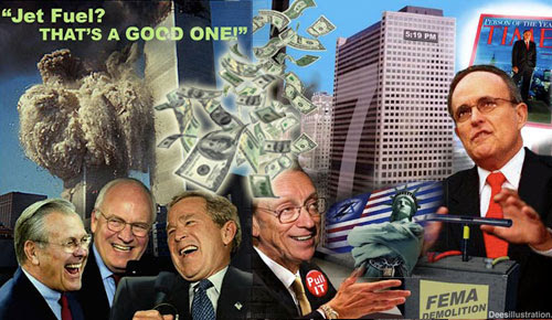 Image result for 911 burning jet fuel rumsfeld thats a good one images