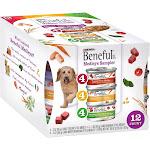 Beneful Prepared Meals Tuscan Romana Mediterranean Medleys Wet Dog Food Sampler - 12 pack, 3 oz cans