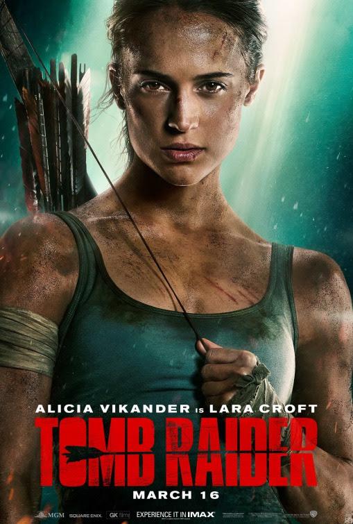 Resultado de imagem para movie poster Tomb Raider 2018 impawards