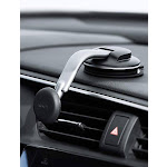 AUKEY Cell Phone Holder for Car 360 Degree Rotation Dashboard Magnetic Phone Mount Compatible with iPhone 11 Pro Max / 11 / XS Max / XS / 8 / 7 ,