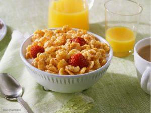 corn flakes diet