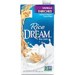 Rice Dream Organic Enriched Vanilla Rice Drink Non-Dairy Beverage - 64 fl oz