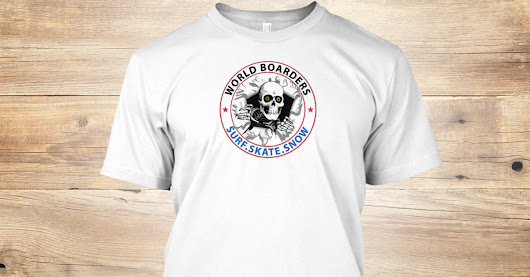 Epic World Boarders - Skull T-Shirts