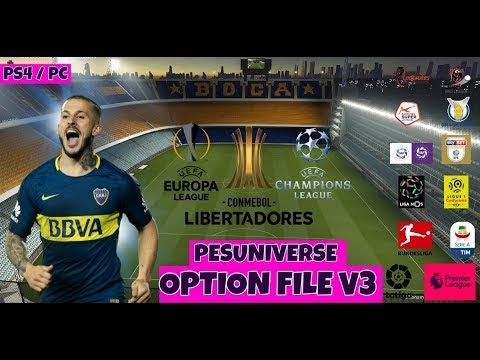 Pes Universe Free Option File