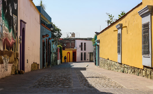 Oaxaca City - These Foreign Roads