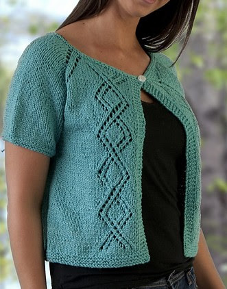 Craft Passions: Top Down Summer Lace Cardigan.# free ...
