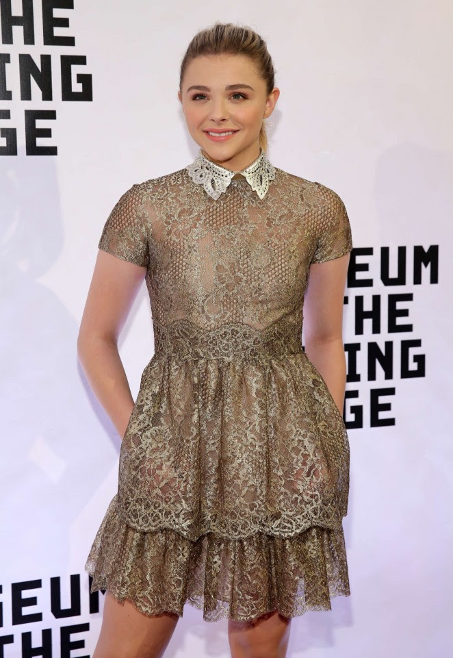 Chloe Moretz: Museum of The Moving Image honors Julianne Moore -04