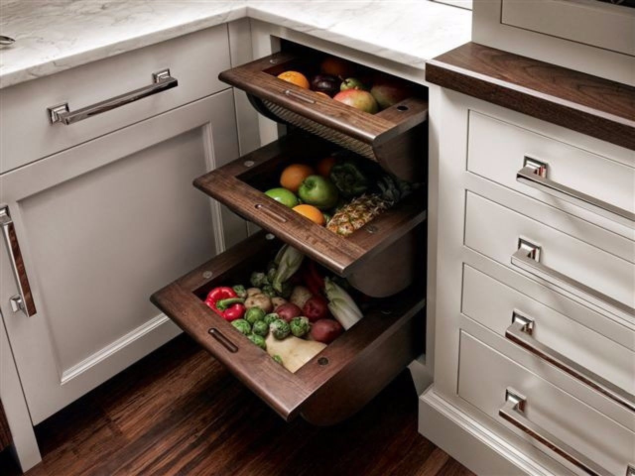 Saving Space Kitchen Ideas #1 | Woodz