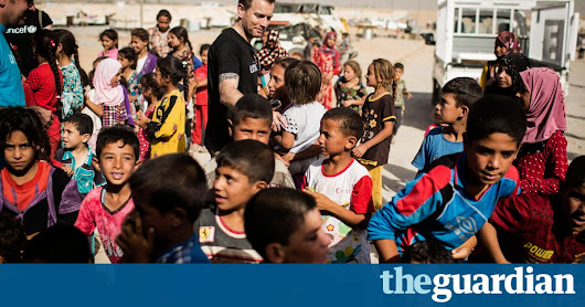 Little respite for Iraqis displaced by Mosul fighting | Global development | The Guardian
