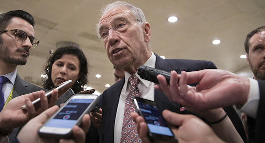 Grassley demands answers on FBI officials' texts about Trump - POLITICO