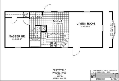 inspirational small mobile home floor plans  home