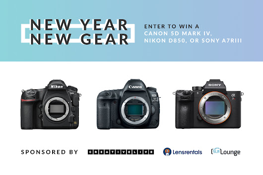 New Year, New Gear Giveaway – Win a 5DM4, D850, or A7R3!