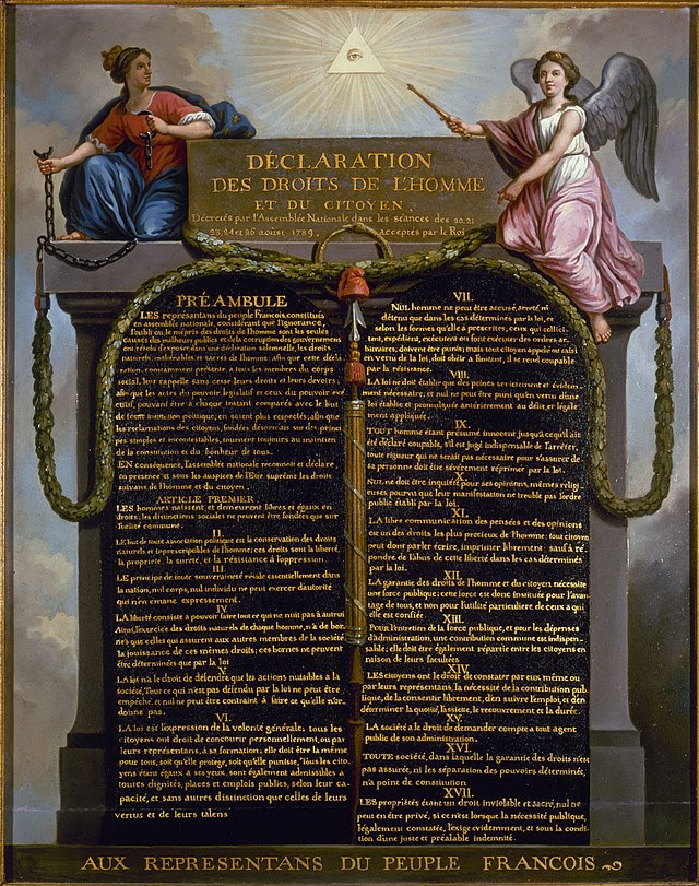 Declaración de Derechos del Hombre de 1789