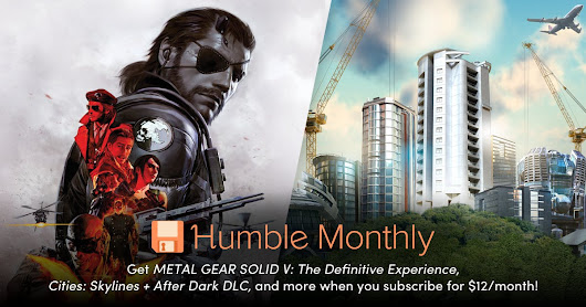 December 2018 Humble Monthly