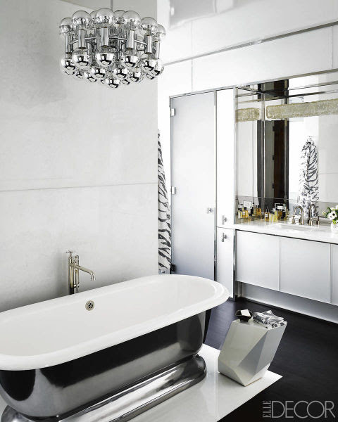 Top 10 Black and White Bathroom Ideas - Preview Chicago