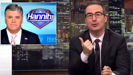 John Oliver Trolls Trump by Purchasing Pro-Iran Nuclear Deal Ads on Sean Hannity's Fox News Show