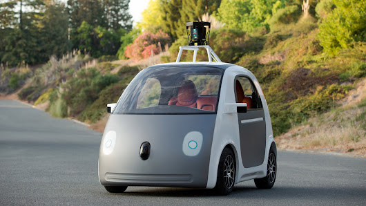 Google's Next Phase in Driverless Cars: No Brakes or Steering Wheel - NYTimes.com
