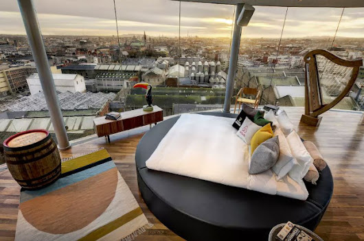 Spend the night at Dublin's Guinness Storehouse on Airbnb
