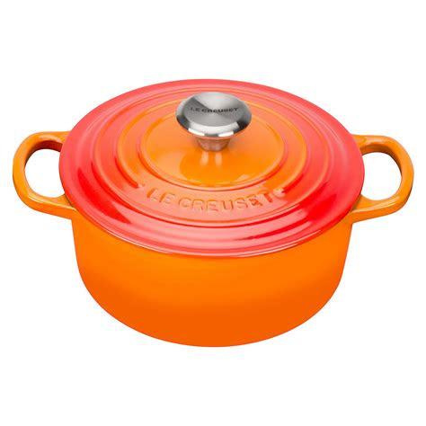 le creuset signature cast iron cm  casserole dish
