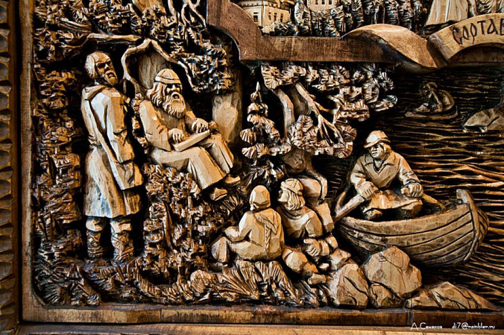 As incríveis pinturas esculpidas de Kronid Gogolev 20