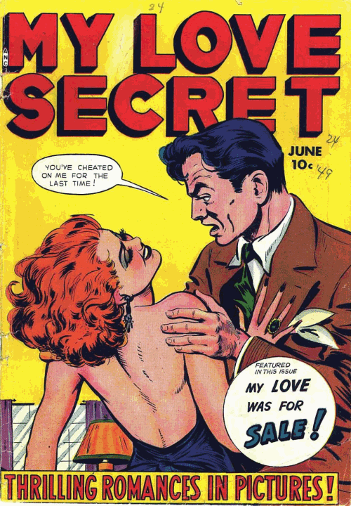 Week 147 - My Love Secret #24 - Comic Book Plus Forum