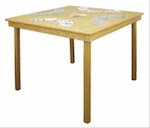 Folding Game Table Woodworking Plan - fee plans from WoodworkersWorkshop® Online Store - tables, portable,folding legs,full sized patterns,woodworking plans,woodworkers projects,blueprints,drawings,blueprints,how-to-build,MeiselWoodHobby