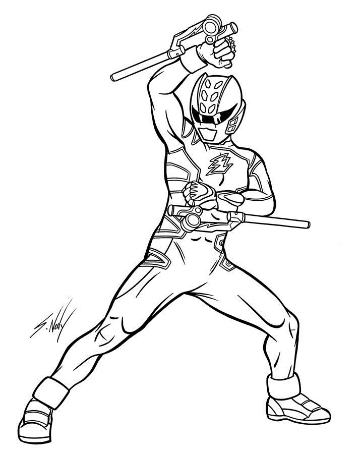 Power Rangers Wild Force Coloring Pages - Coloring Home
