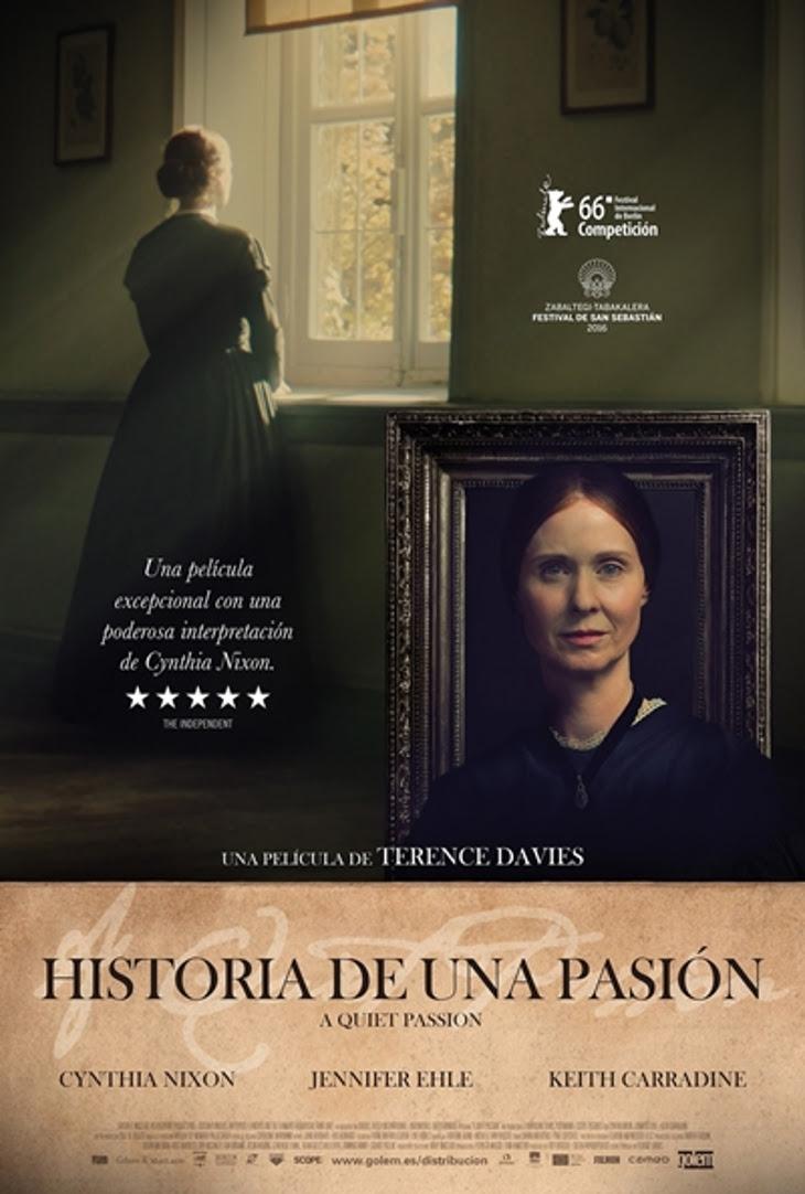 """Resultado de imagen de """"Historia de una pasión"""". ¿Quién fue Emily Dickinson?"""