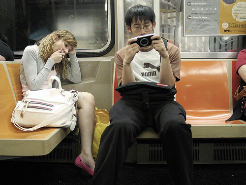On the Subway, NYC