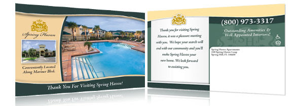 Apartment Thank You Cards Impress Future Residents
