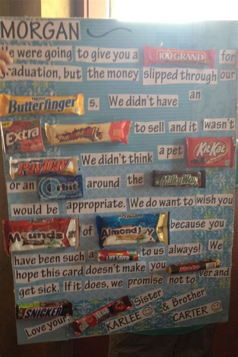 25  best ideas about Candy bar signs on Pinterest   Candy