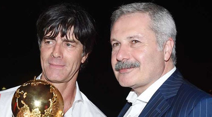 Joachim Löw and his Turkish manager or the Döner connection !!!!