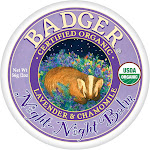 Badger Balm, Night-Night, Lavender & Chamomile - 2 oz