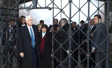 VP Mike Pence Visits Dachau Nazi Concentration Camp In Germany, Makes No Formal Comment About Victims