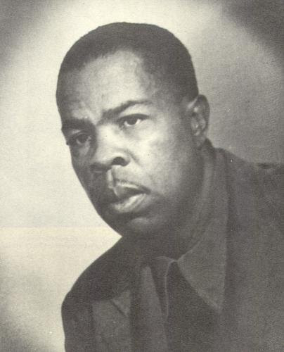 Pictured: Communist Party leader, Frank Marshall Davis.