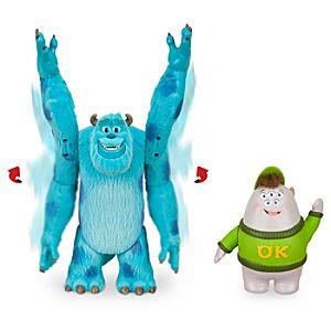 Monsters University Action Figure Set - Sulley & Squishy