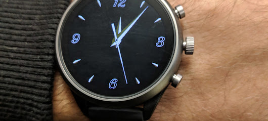 Implementing the new ambient second hand for Wear OS with Watch Face Decompositions – Turn Da Page
