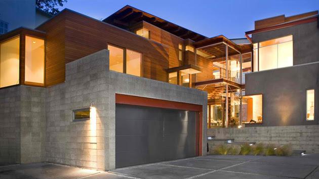 15 Detached Modern and Contemporary Garage Design Inspiration ...