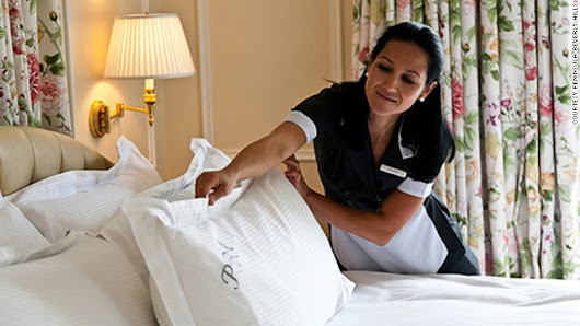 The secret lives of hotel pillows