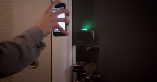 Using Your Smartphone as Your Hotel Room Key